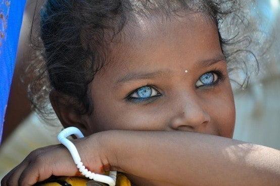 Редкий цвет глаз