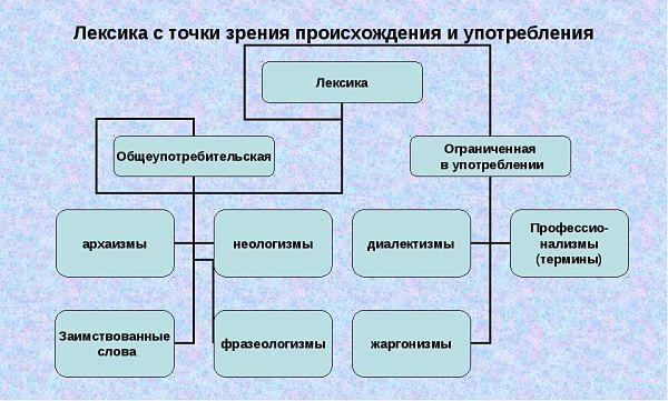 Лексика русского языка доклад 6707
