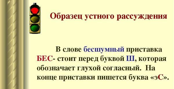 """Правописание слова """"бесшумный"""""""