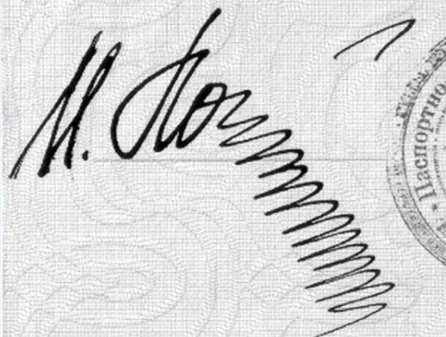 забавная подпись