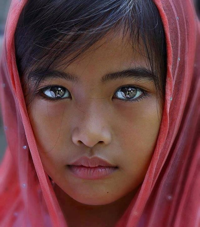 Глаза девочки