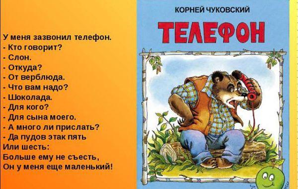 "Корней Чуковский ""Телефон"""