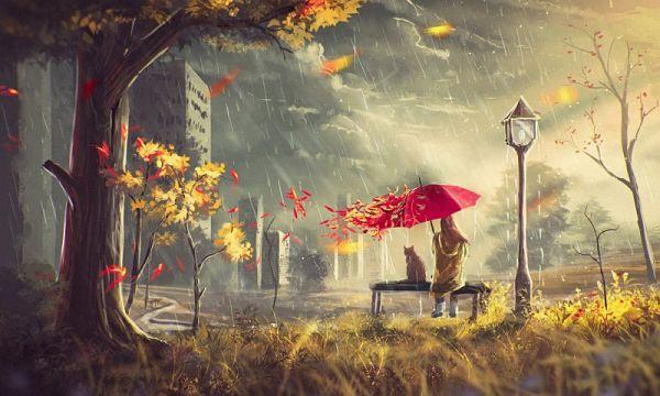 Ветрено и дождливо